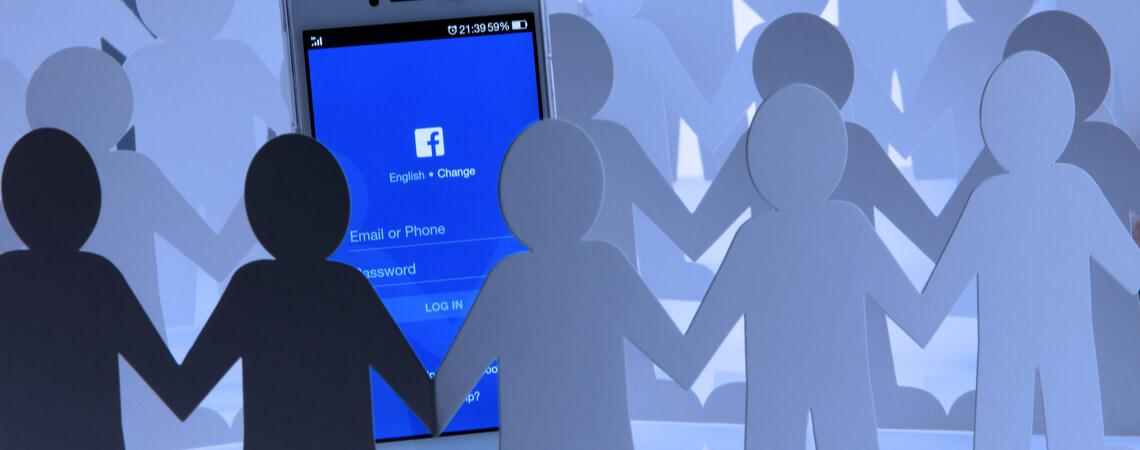 Facebook Menschen-Simulation
