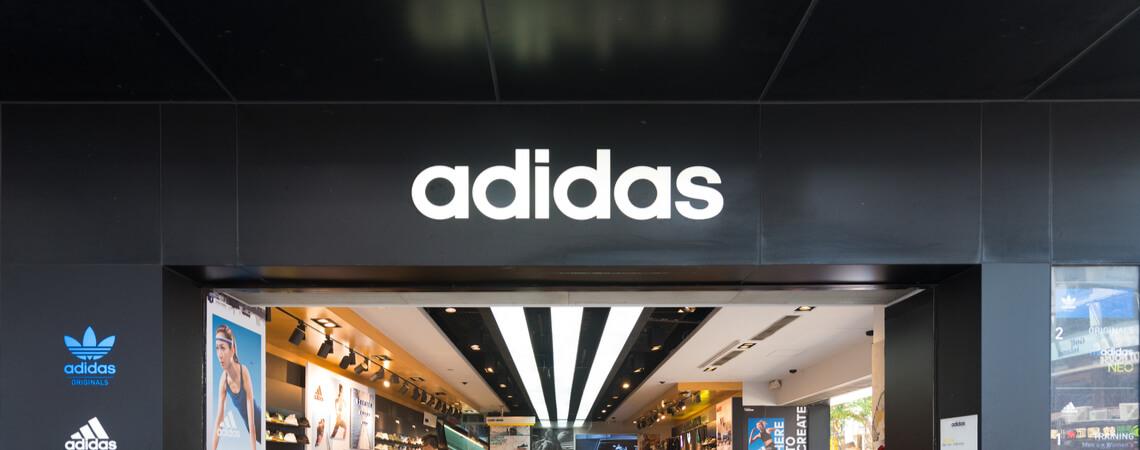 Filiale des Sportartikelherstellers Adidas