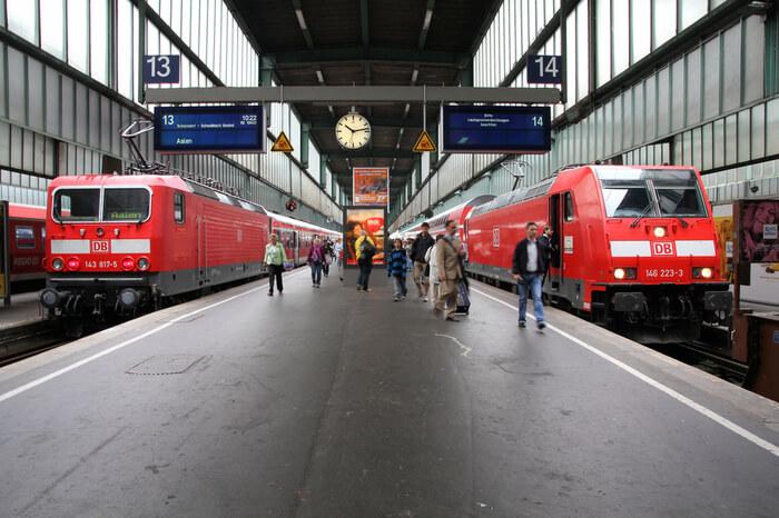 Regionalzüge der Bahn