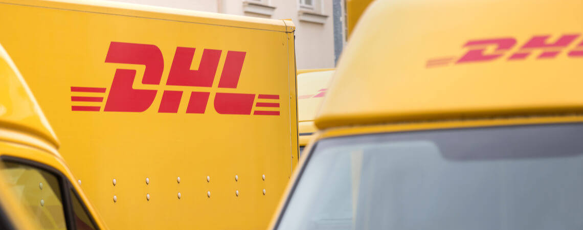 Flotte des Logistikers DHL