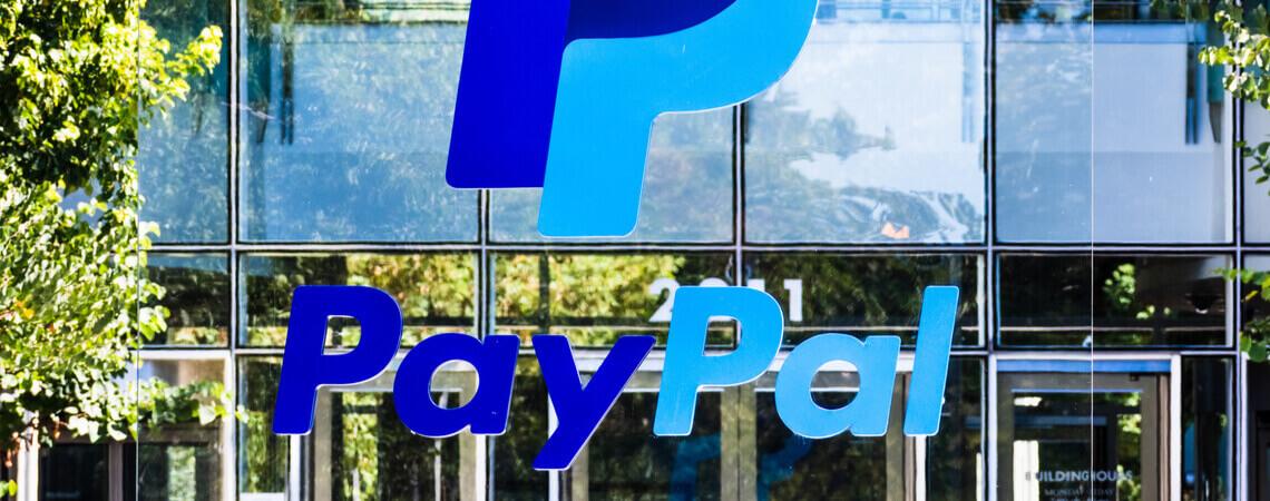 Logo des Zahlungsdienstleisters PayPal