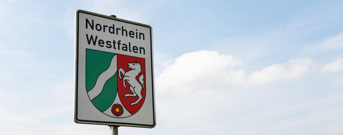 Schild Nordrhein-Westfalen
