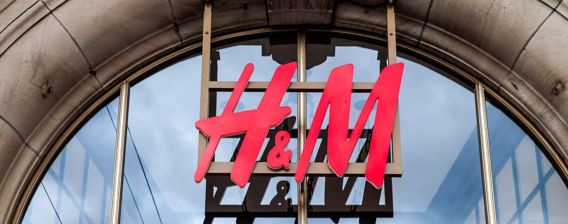 Logo der Modekette H&M