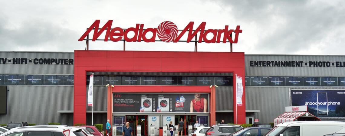 Filiale der Elektrokette MediaMarkt
