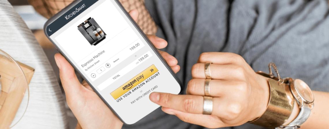 Amazon Pay auf Smartphone