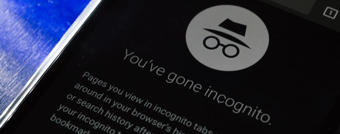 Google Inkognito-Modus