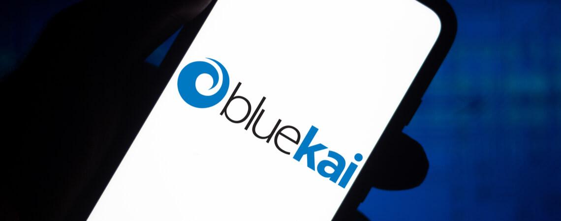 Bluekai-Logo auf Smartphone