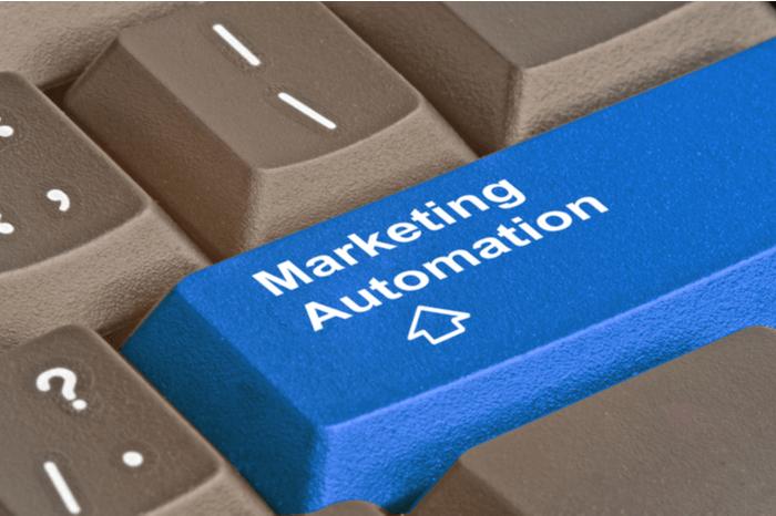 Marketing Automation auf Tastatur