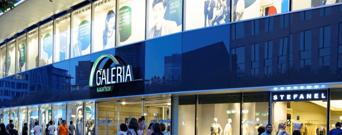 Galeria Kaufhof-Filiale in Frankfurt