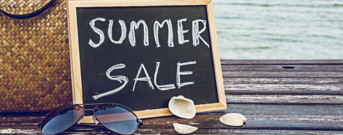 Summer Sale Schild