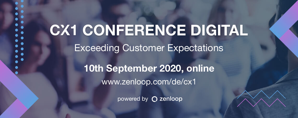 Ankündigung CX1 Conference