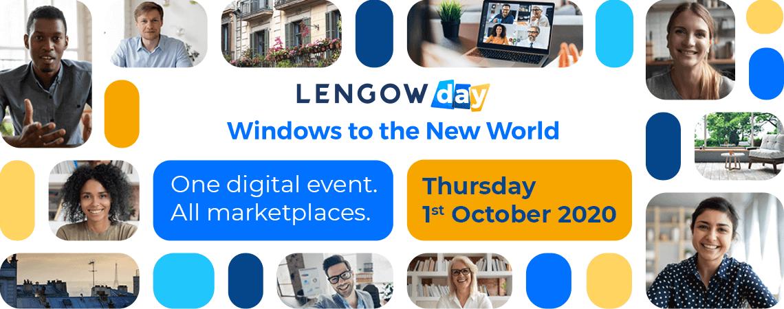 banner zum Lengow Day am 1. Oktober 2020