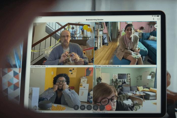 Videokonferenz im Homeoffice via Apple