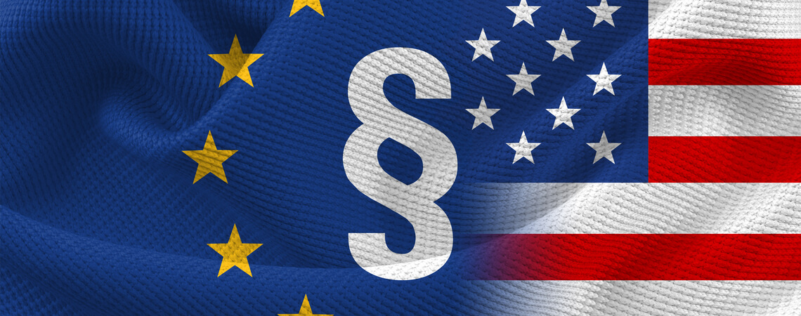 EU-US-Recht mit Paragraph