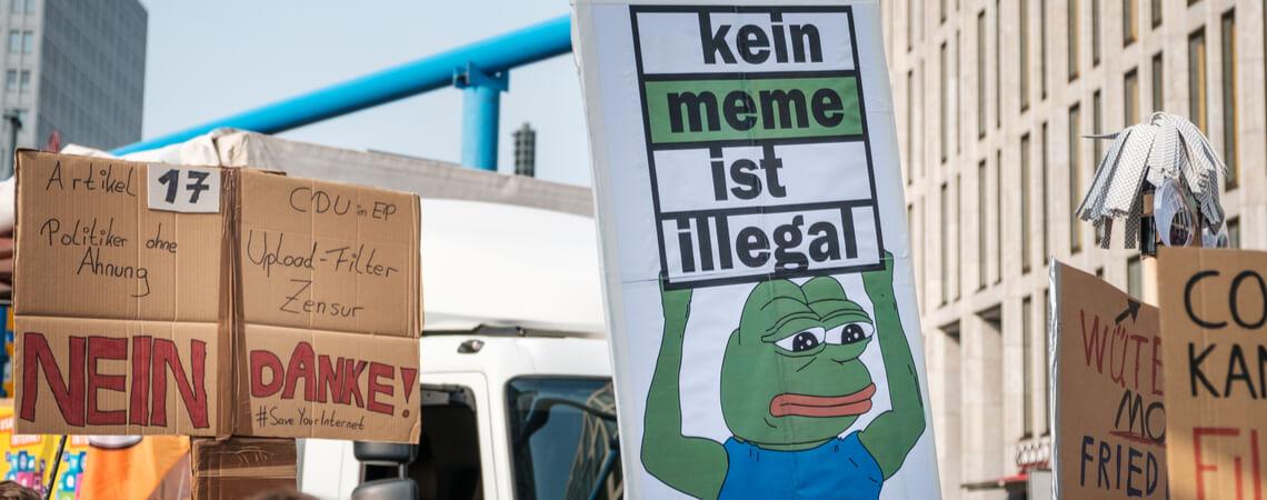Protest gegen Artikel 17