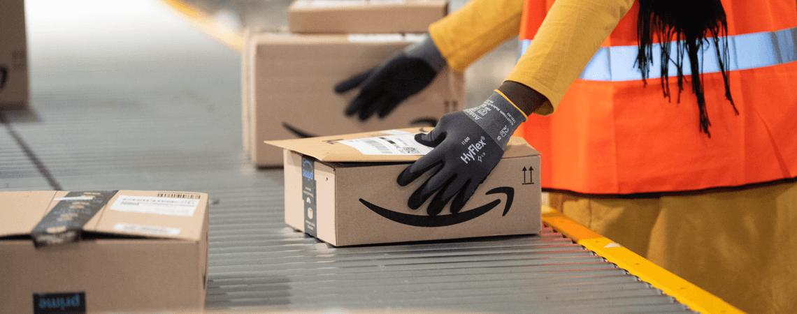 Amazon Lager Paketband