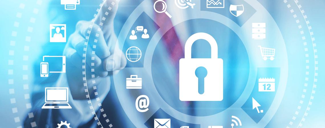 Konzept der Internetsicherheit