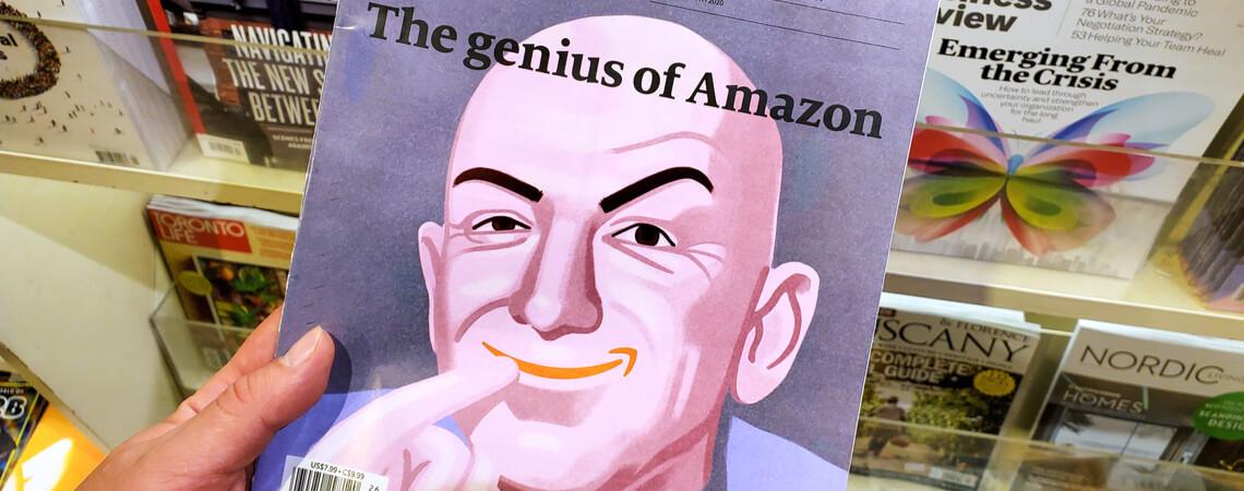 Magazintitel Jeff Bezos