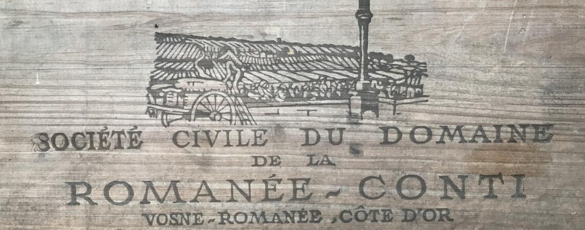 Holz-Weinbox Romanee Conti