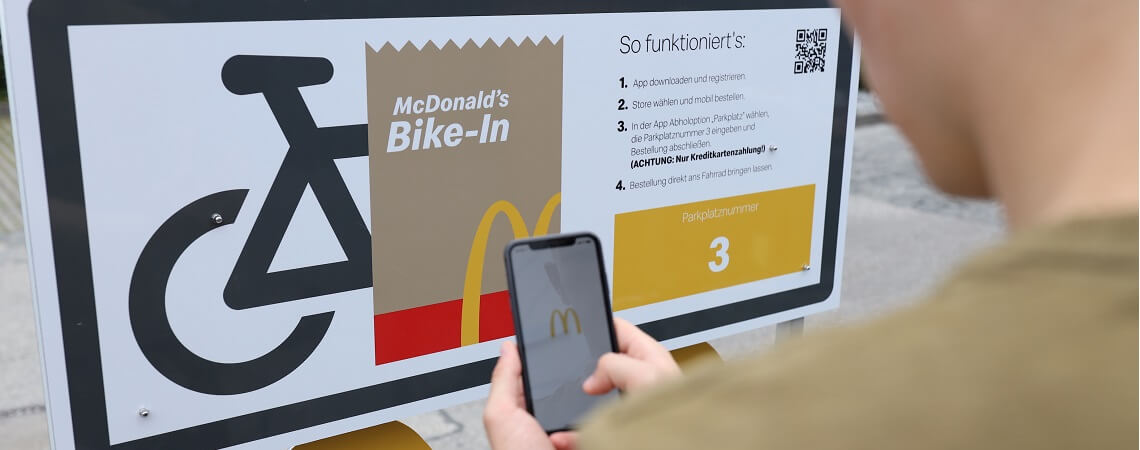 McDonald's Bike-In