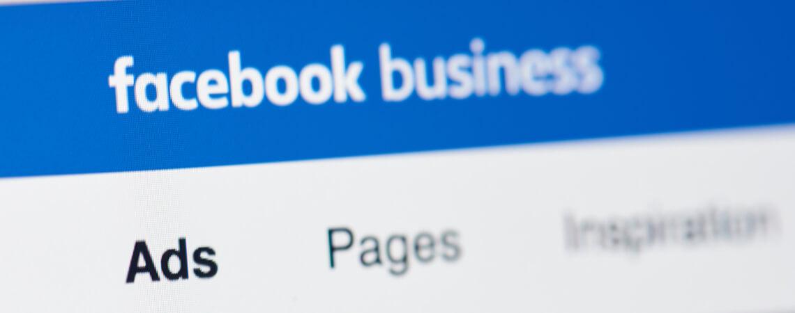 Facebook Business Screenshot