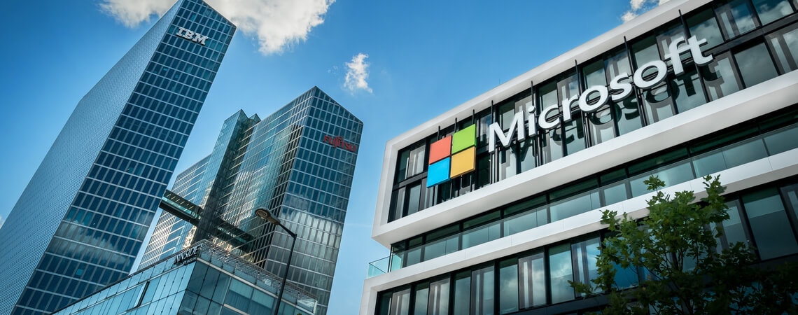 Microsoft Geschäftsgebäude