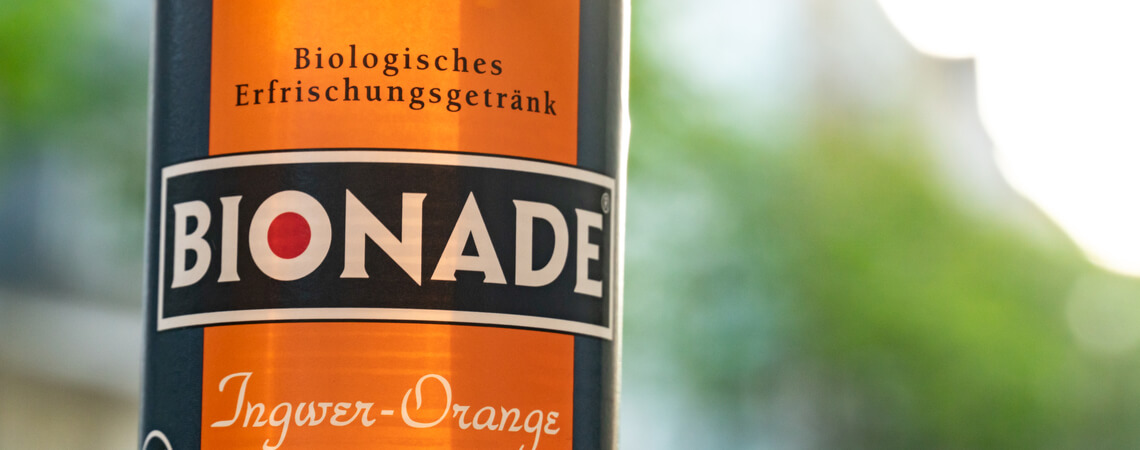Bionade-Flasche