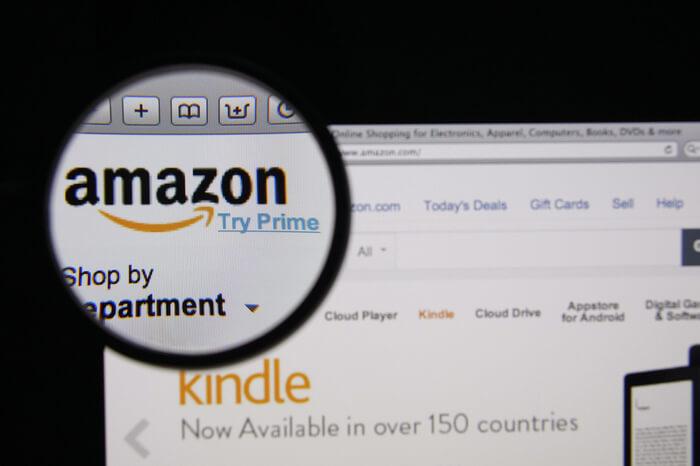 Lupe auf Amazon