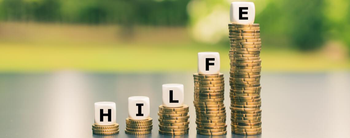 Hilfe Buchstaben auf Geldturm