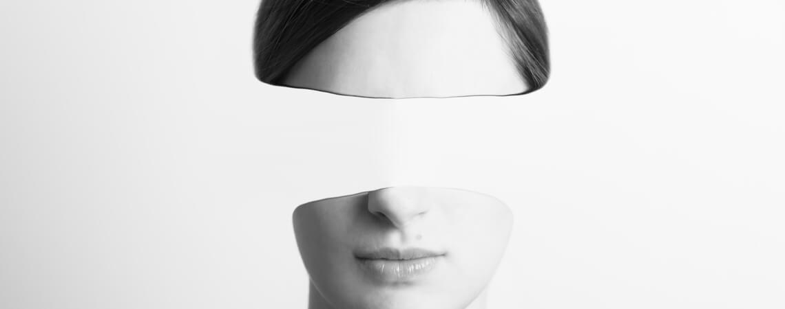 Frau ohne Augen
