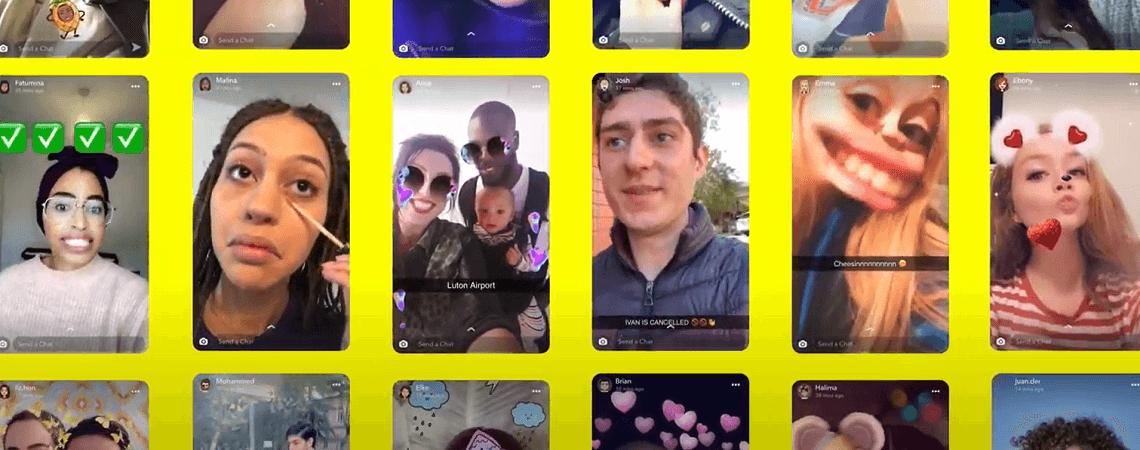 Screenshots Snapchat Storys