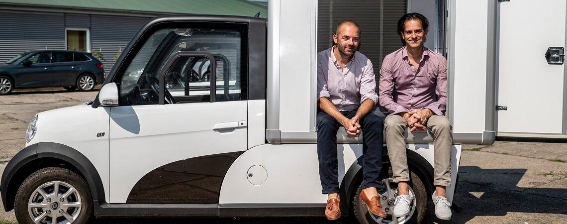 Thomas Kuwatsch und Daniel Jacob von Ari Motors
