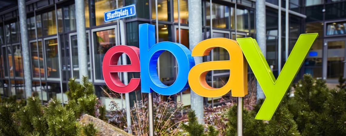 Ebay Logo in Berlin