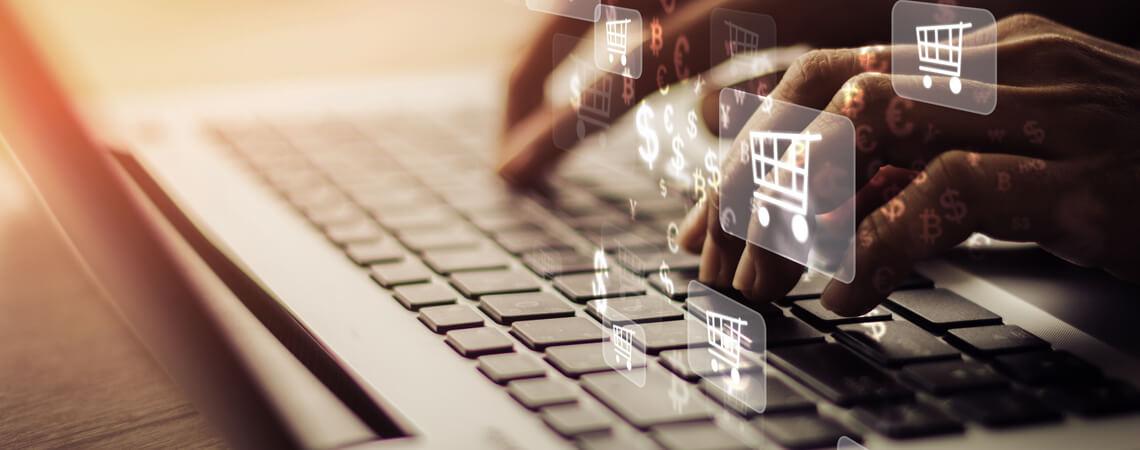 Laptop Shopping Logos