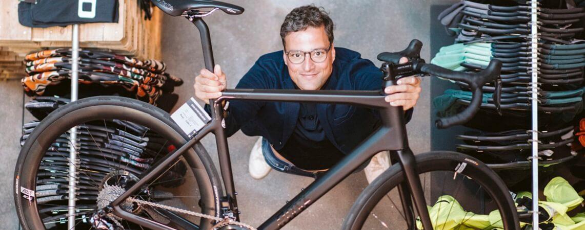Marcus Diekmann, Geschäftsführer von ROSE Bikes