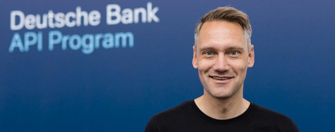 Joris Hensen, Co-Leiter und Initiator des API-Programms der Deutschen Bank