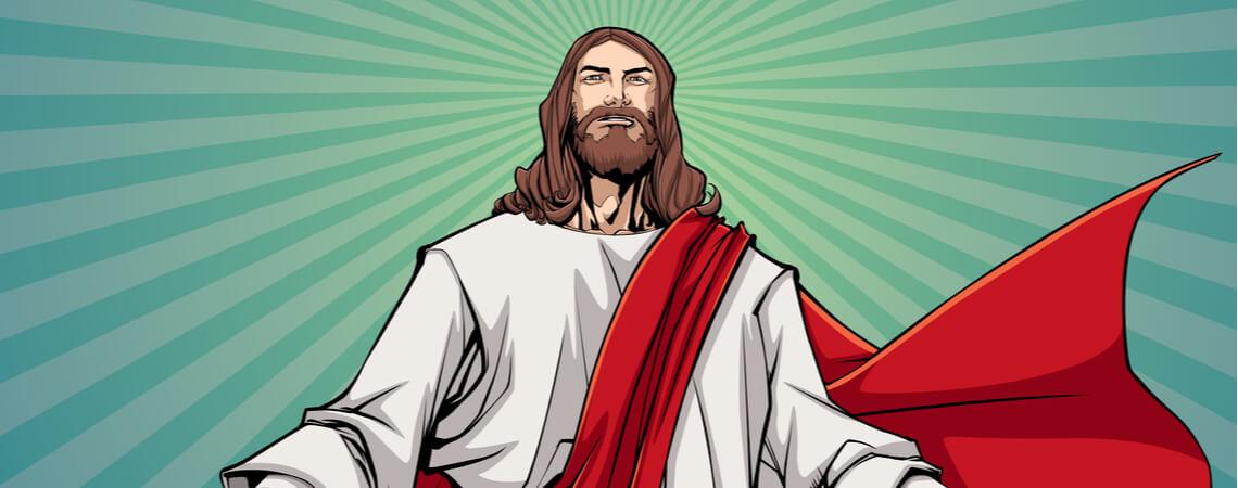 Illustration von Jesus