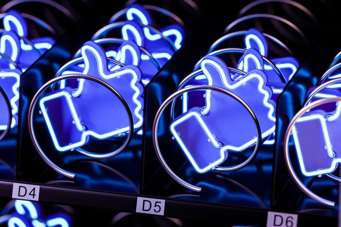 Like-Buttons aus dem Getränkeautomaten