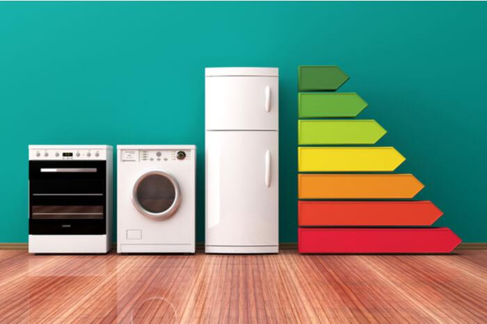 Haushaltsgeräte mit einer Energiekennzeichnung