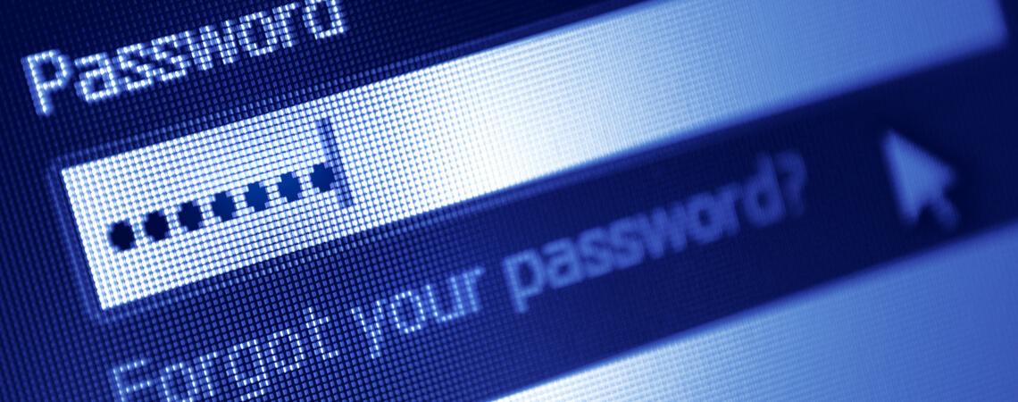 Passwort vergessen