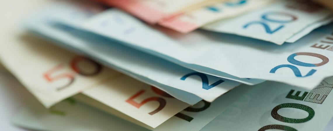 Geldscheine: Euro