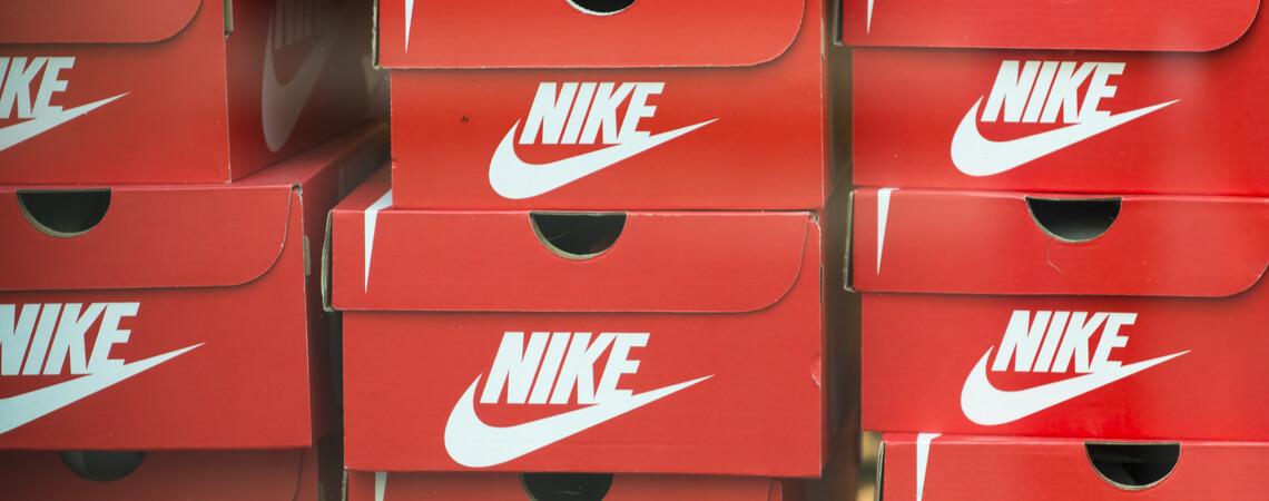 Nike-Schuhkartons