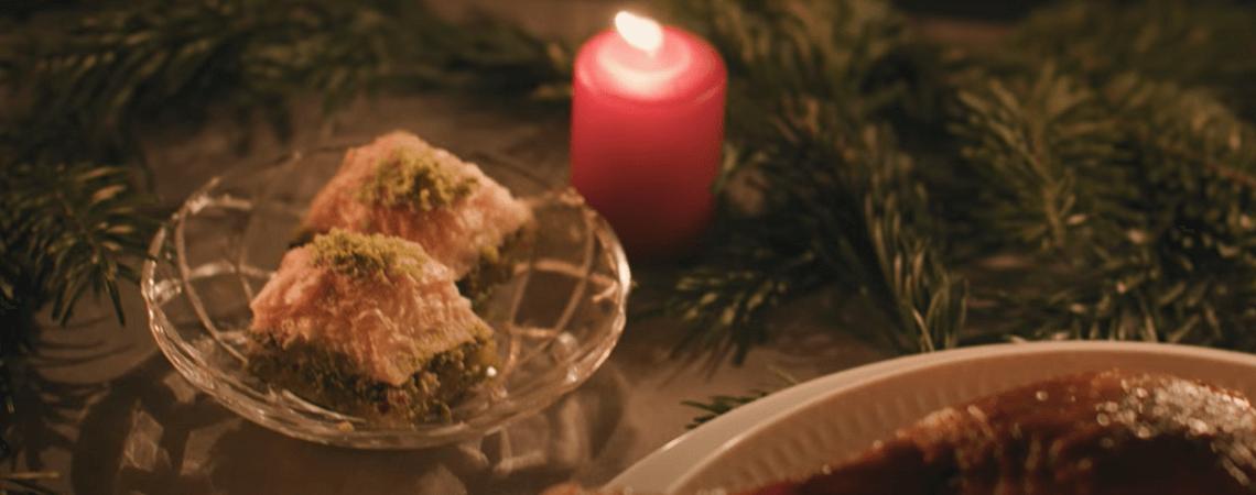 Weihnachtsbraten und Baklava