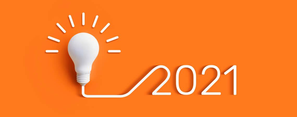 Idee Glühlampe 2021