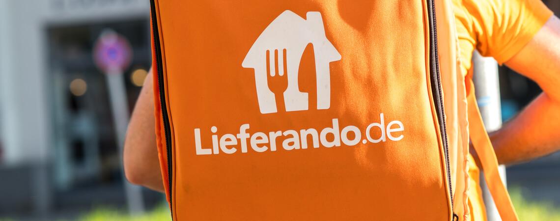 Lieferando-Kurier