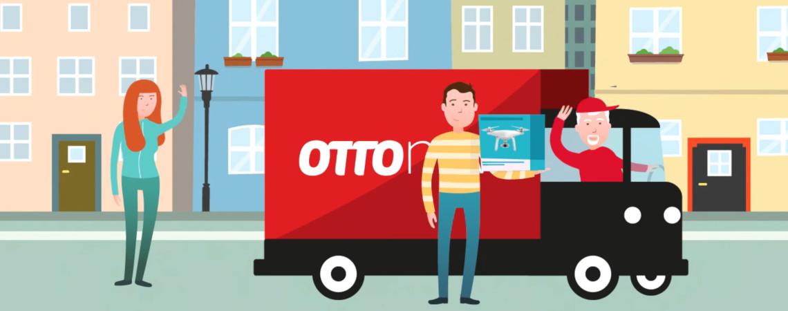 Screenshot: Ottos Mietservice Otto Now