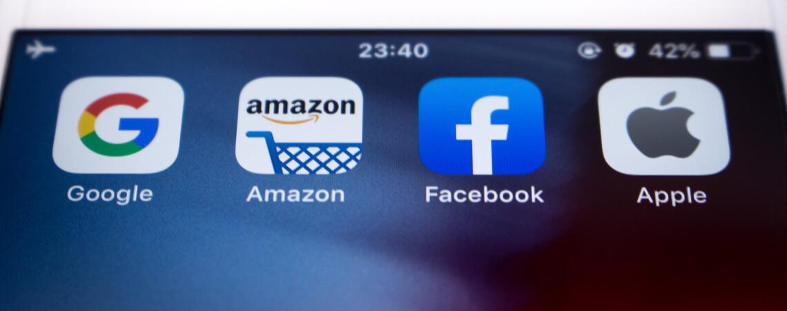 Amazon, Apple, Facebook, Google