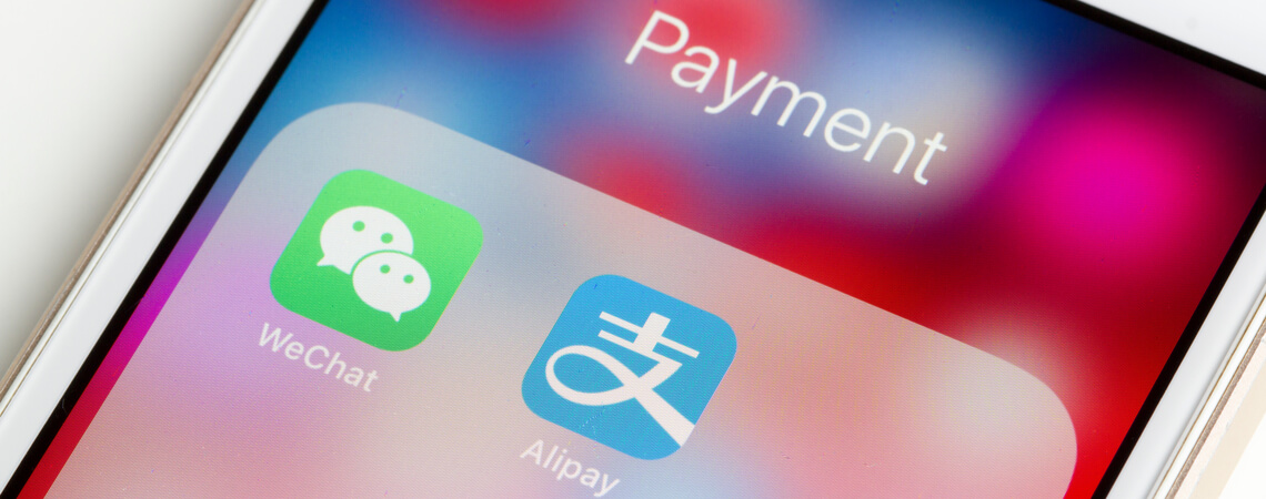 Alipay und WeChat