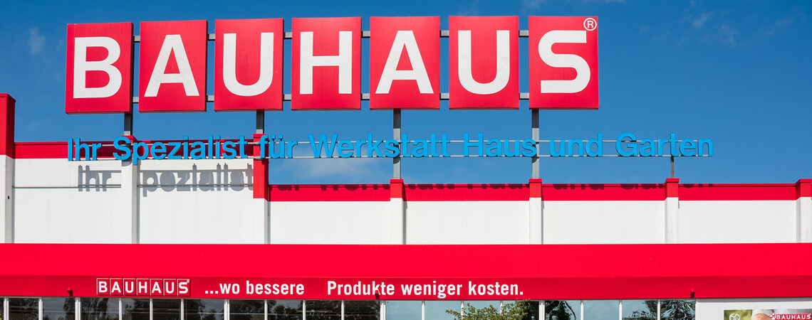 Bauhaus-Filiale in Kiel