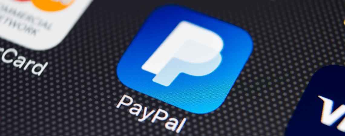 Paypal-App auf Smartphone